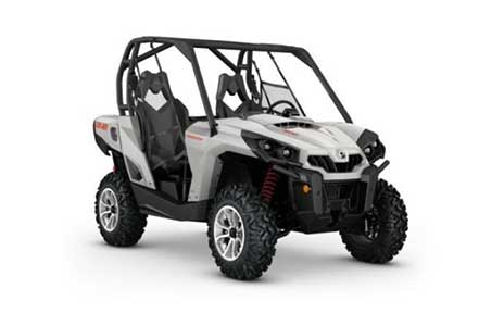 Rent a Can-Am Commander 800 DPS at Island Park Adventures, ID