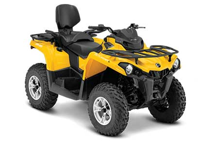 Rent a Can-Am Outlander L Max 450 at Island Park Adventures, ID